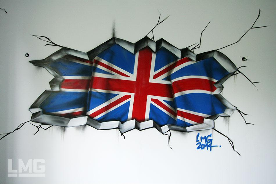 Chambre Ado Style Angleterre : Le mouvement graphique graffiti toulouse